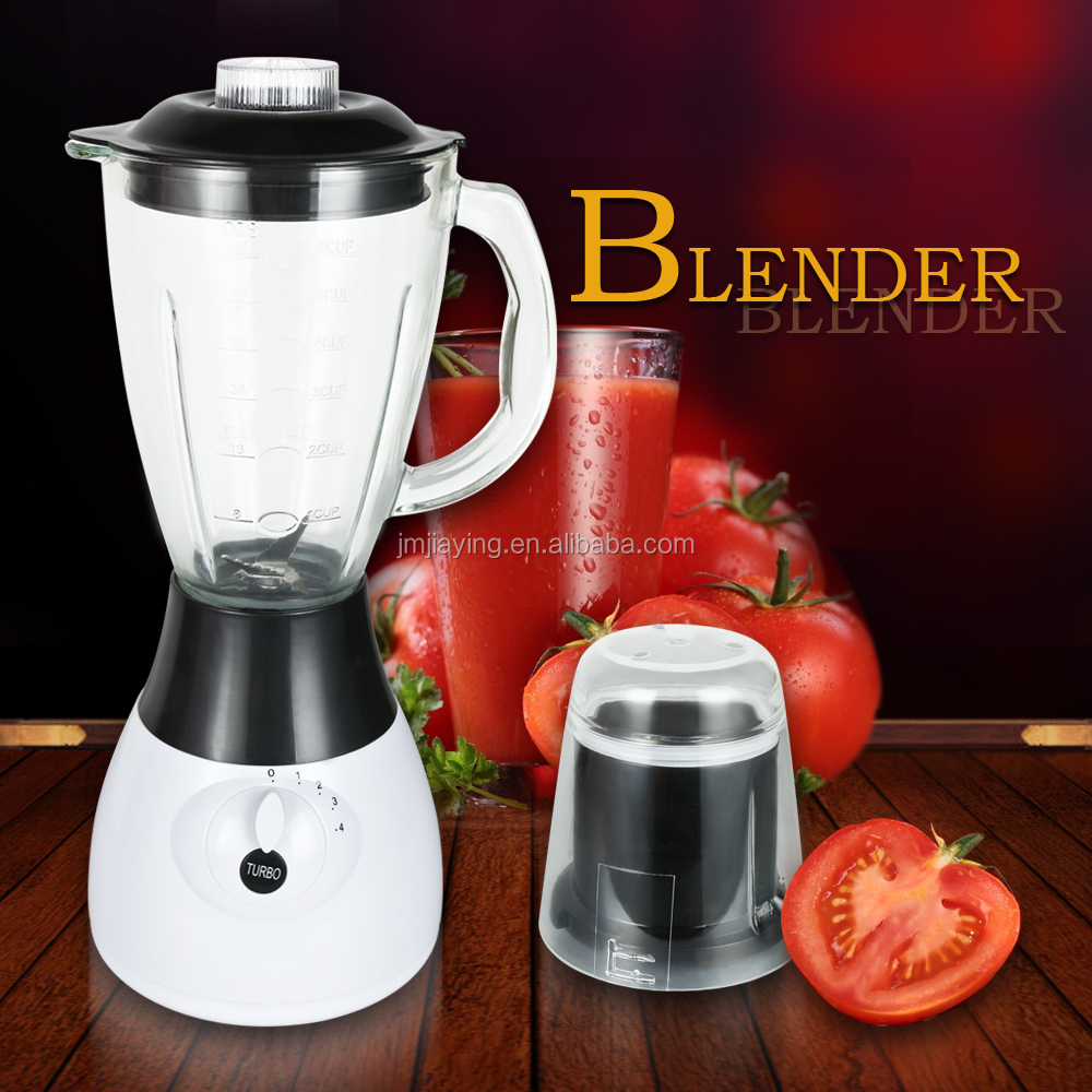 Factory Price High Quality 1.5L Glass Jar 4 Speeds 2 In 1 Household Blender