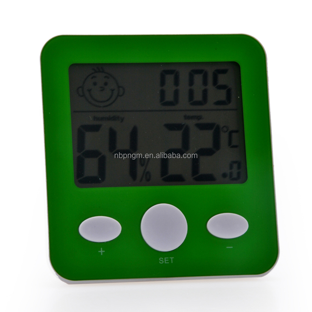 Small and Cute Plastic Digital thermometer hygrometer