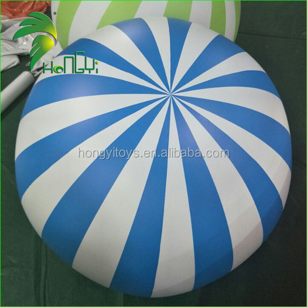 Hot Sale Giant PVC Beach Ball Inflatable Colorful Ball with Logo Printing