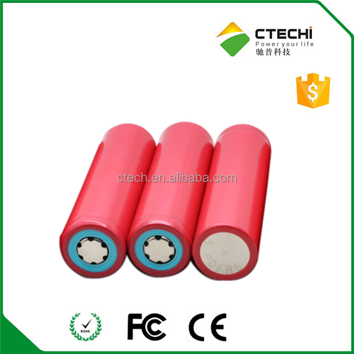 li ion battery for flashlight torch 3.6V 18650 Cylindrical cell 3400mAh