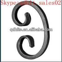 Hot sale!manufacturer,decorative wrought iron c scrolls in China