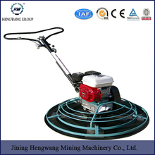 factory gasoline walk behind aluminium 100cm concrete power trowel for sale