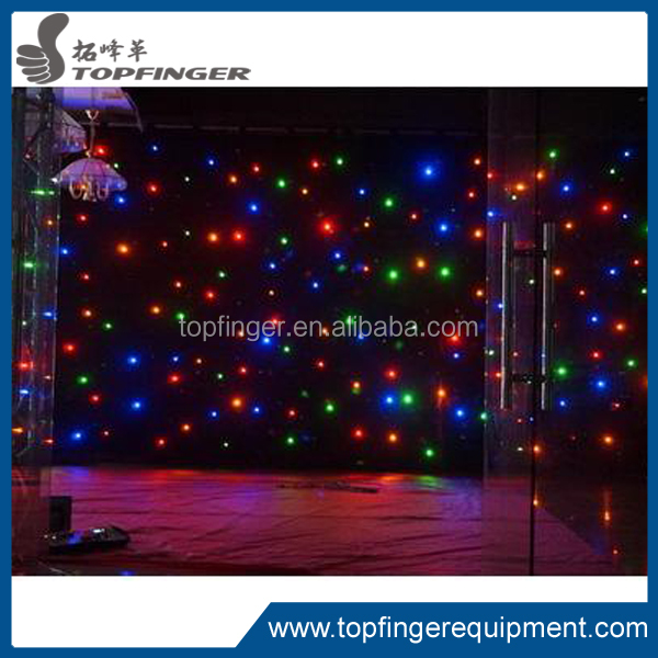 TFR 2016 very cheap Night Club Wall Decor P6.944 Indoor Full Color LED Curtain /LED Video Wall /Stage LED