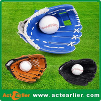 Cheap PVC Leather Promotional Baseball Glove