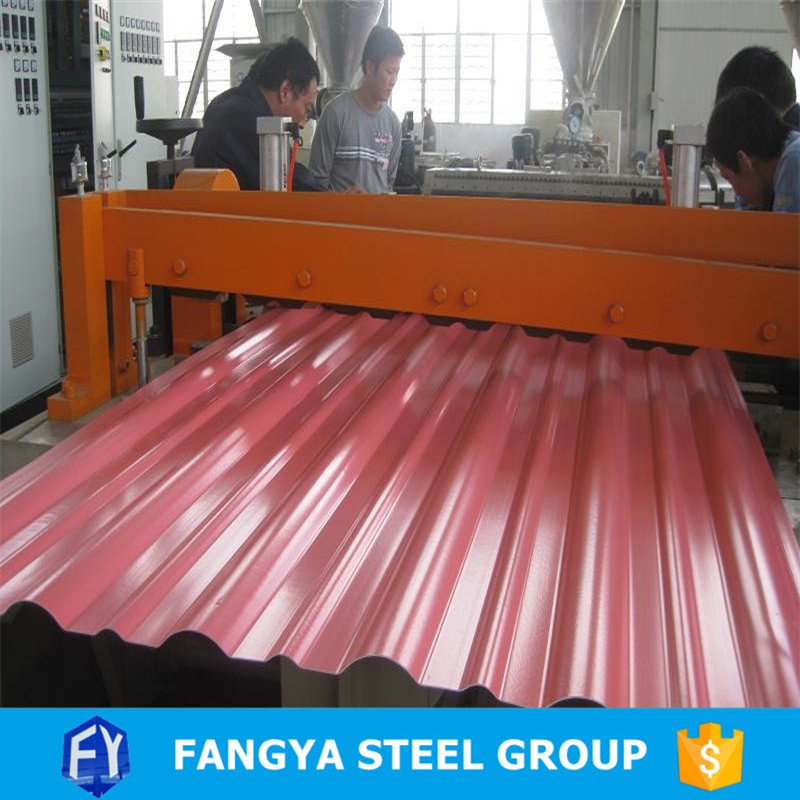 Stock ! tianjin metal roofing low price galvanized corrugated steel sheet