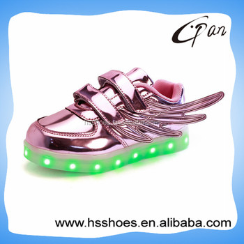 2016 Fashion design led shoes for children