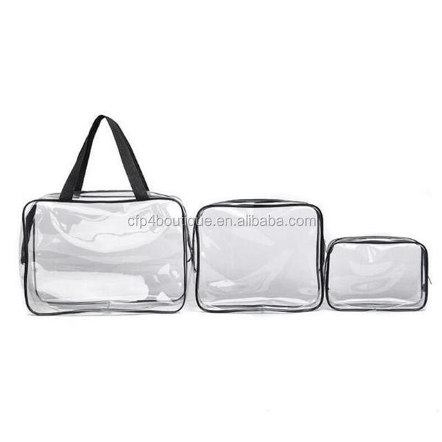 CFP B058 Hotsale Beach Bag Transparent PVC Cosmetic Bag