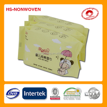 2017 CE China Export hand and mouth baby wet wipes