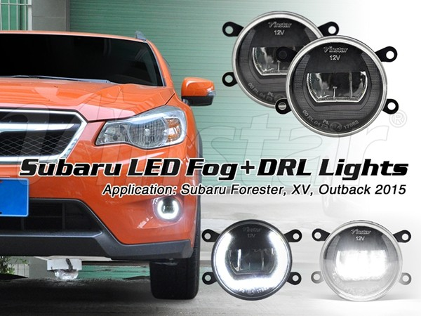 P13W for DRL, H8 for Fog OEM LED Subar u DRL fog light