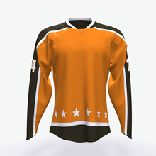 Top quality colorful design reversible ice hockey jerseys for kid