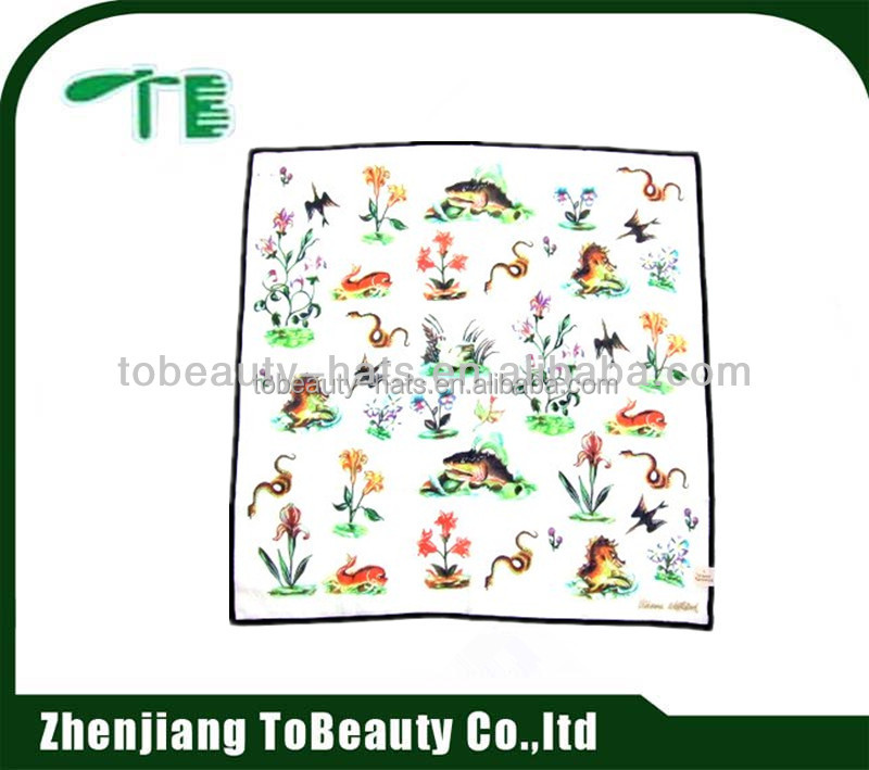 children printed handkerchief