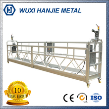 Aluminum welding cradle/ swing stage building painting movable platform