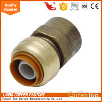 LB-GutenTop pvc female threaded bushing coupling lead free for pex and copper tube