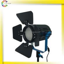 2016 Christmas light 40w professional condenser lens CRI96 PWM dimming technology studio lightings with barn doors
