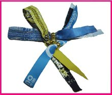 2013 festival fabric wristbands for gifts