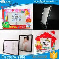 custom beautiful imikimi glass acrylic photo picture frame, custom different types wood paper funny photo frames