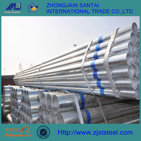 ANSI C80.3 steel galvanized pipe for greenhouse frame
