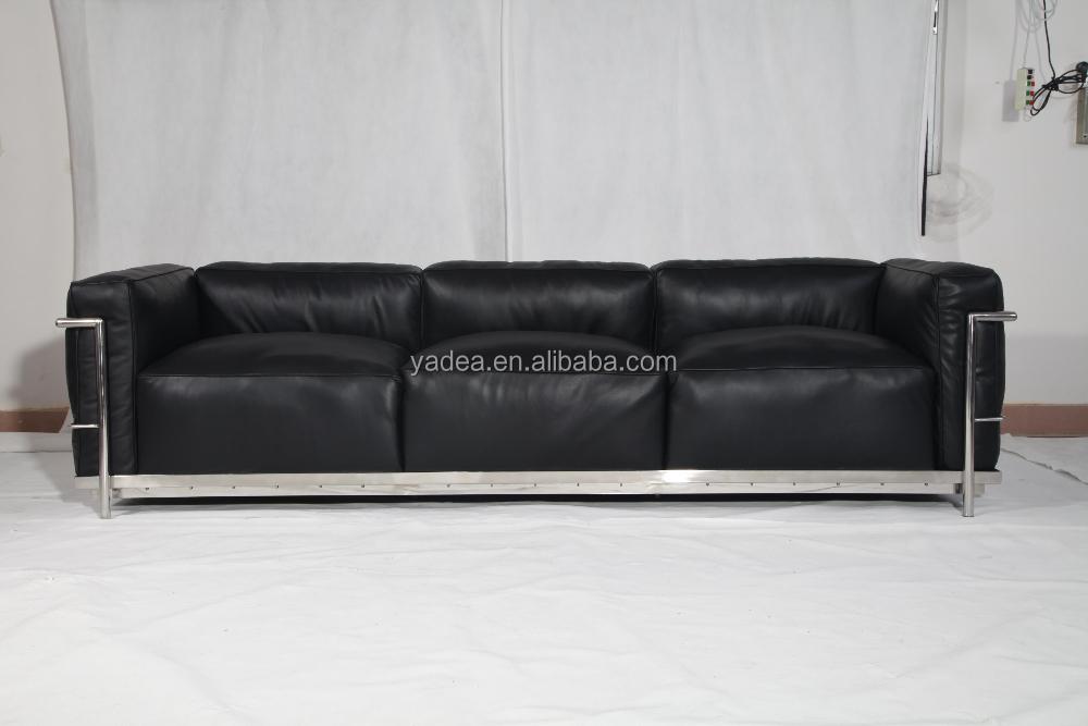 Made In China Living Room Furniture Sofa Set Le Corbusier Lc3 Sofa Replica