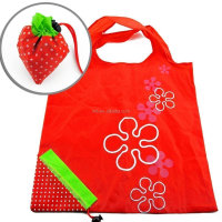2015 New Design all over printed high quality Nylon foldable shopping Bag
