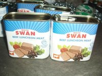 Canned Chicken & Beef Luncheon Meat