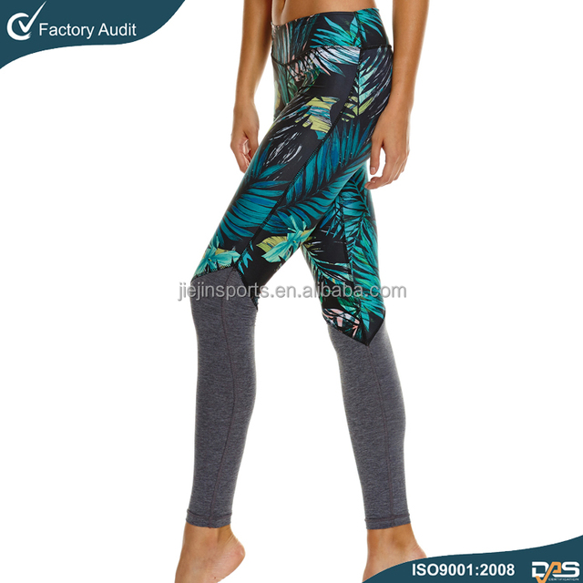 Wholesale Young Ladies Camouflage Leggings Sublimation Printed Women Tight Pants