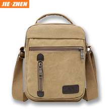 China Low Price Single Shoulder Bag Canvas Mens Cross Body messenger bag