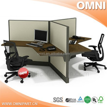 best selling beauty office workstation , best design office workstation made in china