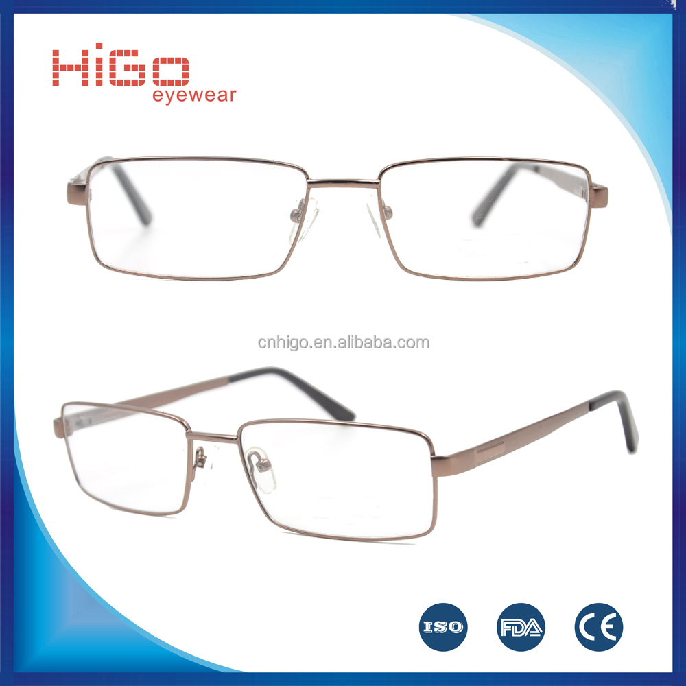 Taobao Fancy Classic Hot Selling High Quality Stainless Steel Optical Frames For Men