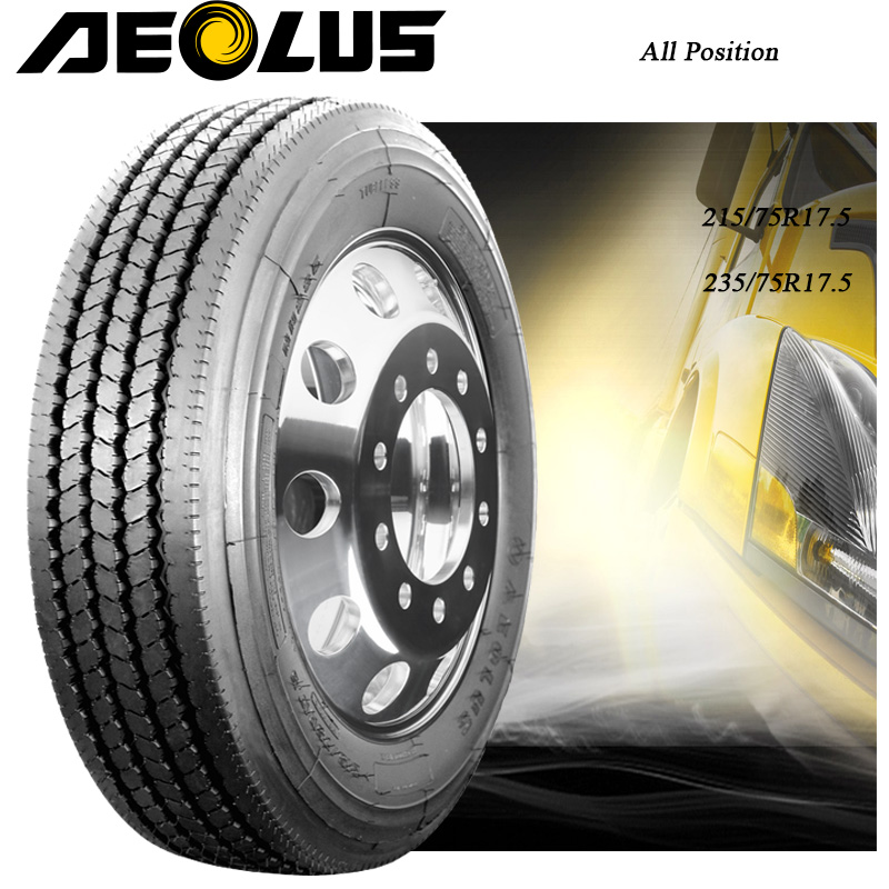 Aeolus best Chinese brand 235/75r17.5 215/75R17.5 All steel light truck tire