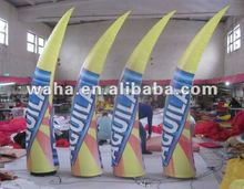 2012 new design led light inflatable cone which can paint logo for advertising