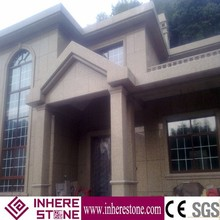 Inhere exterior paint the walls of granite