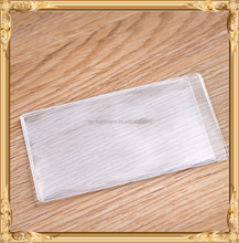 PVC card sleeve, pvc card cover, clear card sleeve JX-019