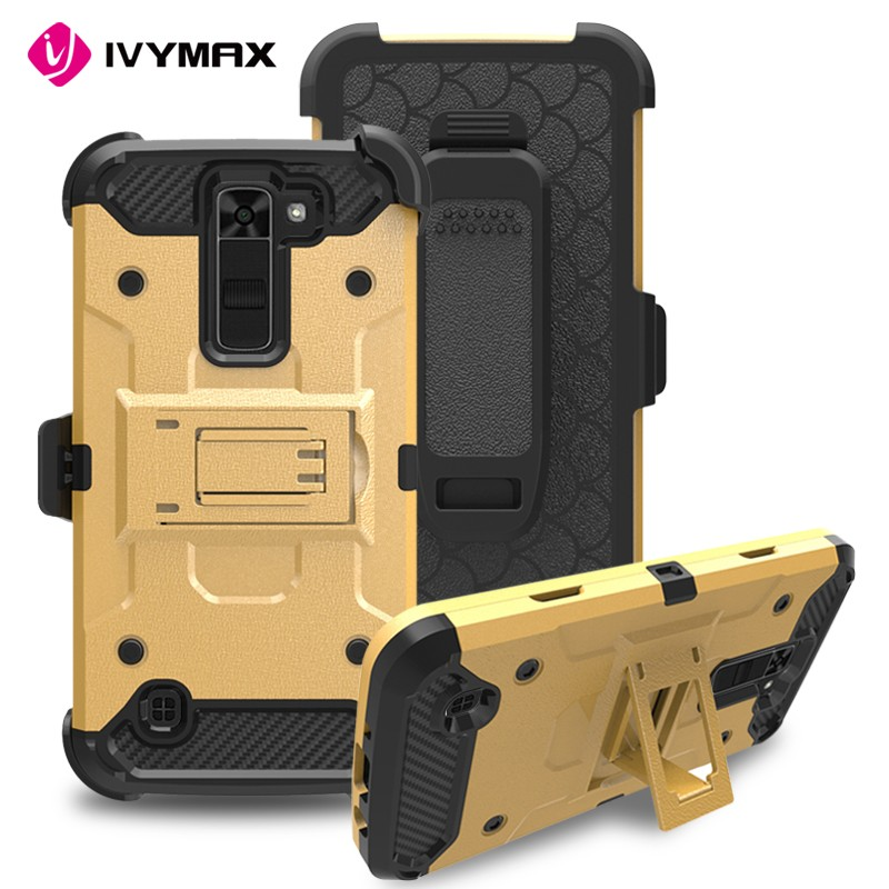 IVYMAX Fashion Shockproof Hybrid Armor case For LG K7 Case