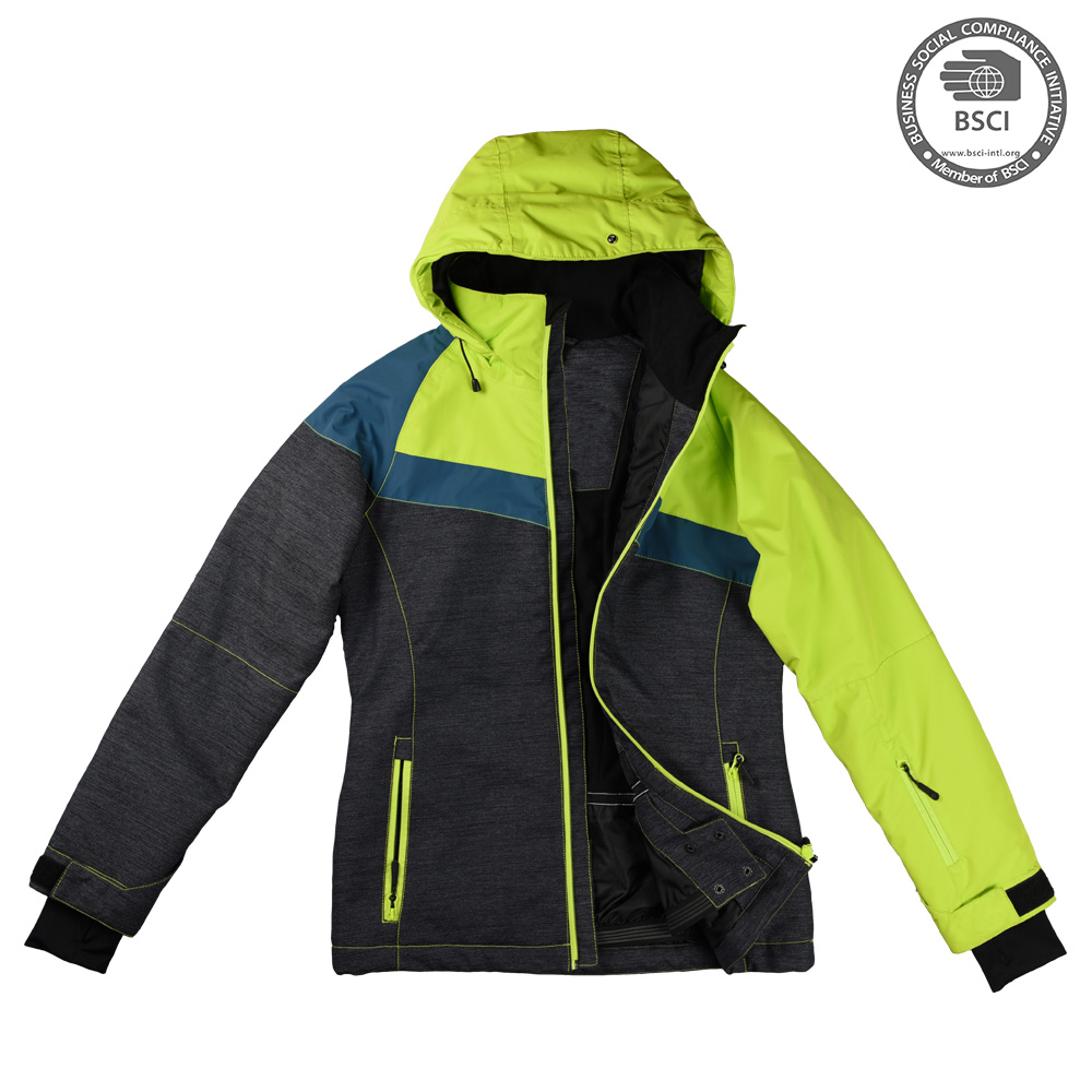 2017 Customized Winter Women Waterproof Ski Jacket Colorful Sportswear