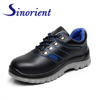 PU upper shoes material Used safety shoes Pakistan Black steel safety shoes price SNB1228
