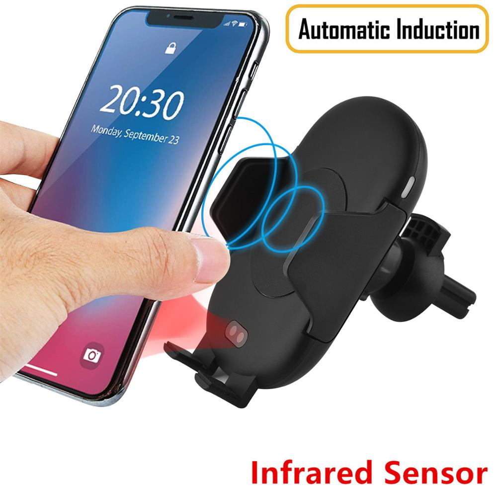 Xinbest <strong>C10</strong> Fully Automatic Infrared Sensor 10W Fast Qi Wireless Car Charger For Samsung,Fast Wireless Car Charger For iPhone X