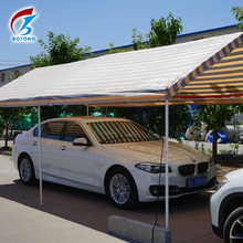 Hot sale Waterproof HDPE woven stripe color pe tarpaulin for car shelter and swimming pool cover