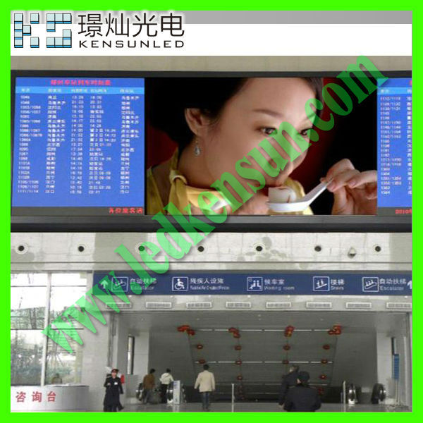 Energy saving full color HD LED video display screen quad digit 7 segment led display
