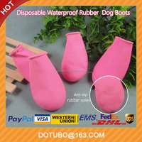 Soft Nature Rubber Waterproof Dog Rain Boots