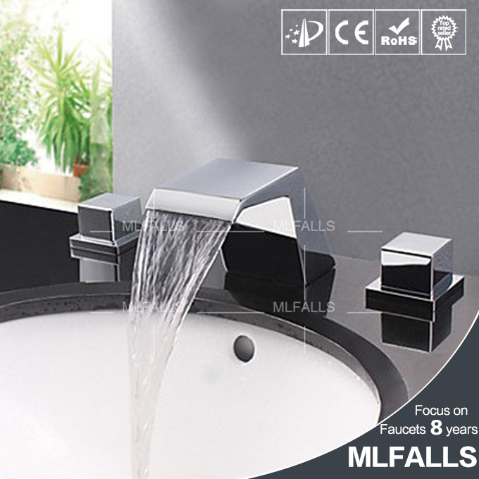 New technology deck mount chrome brass china import manufacturer cascade faucet
