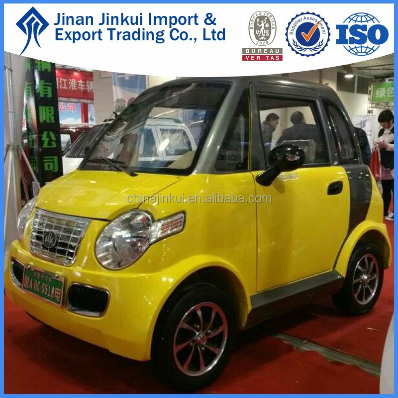 2016 2 seats mini electric car with ISO, global electric motorcars