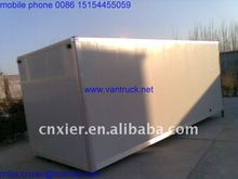 Hot selling wing opening van truck body with high quality