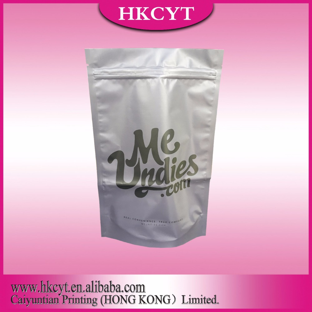 Manufacture Laminated Biodegradable Aluminum foil plastic packaging bag for frozen food