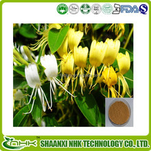 100% Natural Honeysuckle Flower Extract Chlorogenic acid, 5:1 10:1 20:1
