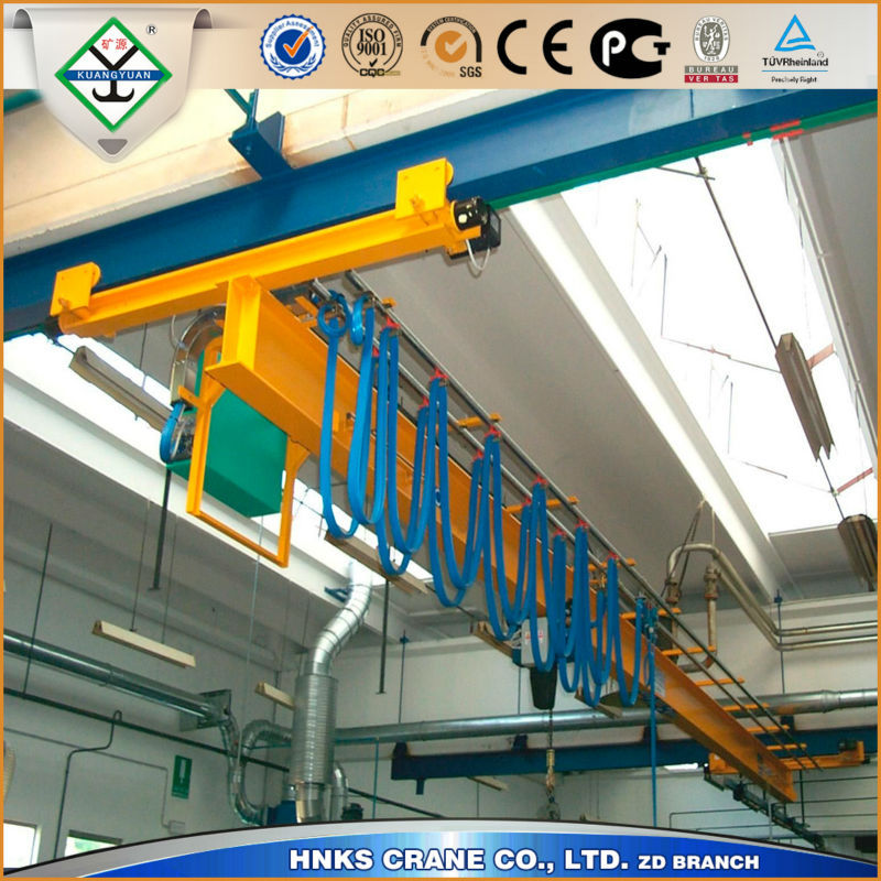 Electric Single Girder Hoist Crane, Overhead Crane for injection machine