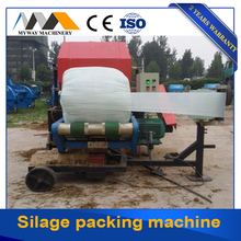 automatic corn silage round packing baler machine for sale price