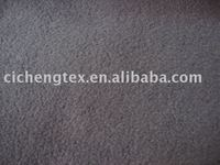 two-side brush one-side anti-pilling polar fleece