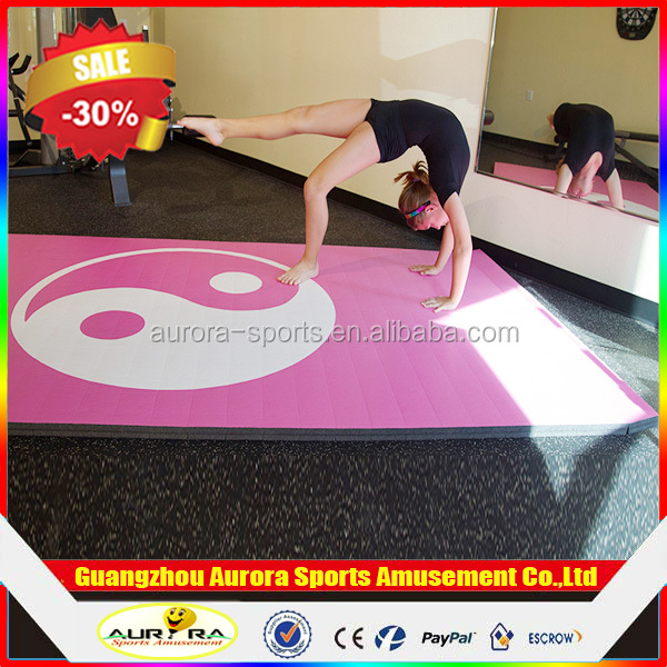 China Factory Manufacture Wholesale Dollamur Flexi Roll Gymnastic Mats For Training