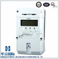 international PRIME/G3 PLC technology phase electrical energy meter single