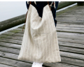 wholesale linen handbag with leather,linen shoulder bag for women